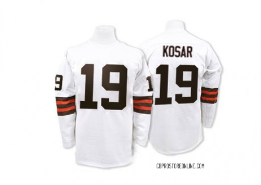 Bernie Kosar Men's Cleveland Browns Mitchell and Ness Mitchell And ...