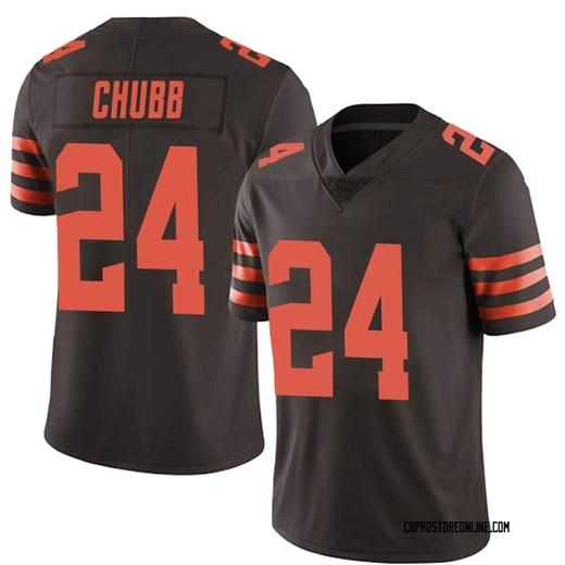 nick chubb browns jersey